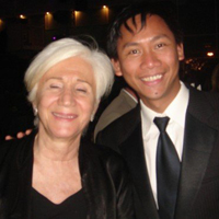 Olympia Dukakis and Kenneth Moraleda @ Vladivostok Film Festival