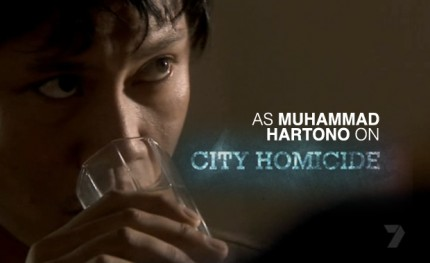 Kenneth Moraleda guest stars in City Homicide